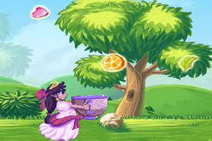 公主接水果