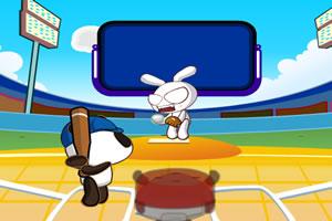 熊猫打棒球
