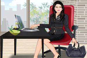 办公室女孩