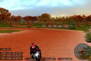 3D豪华摩托车比赛