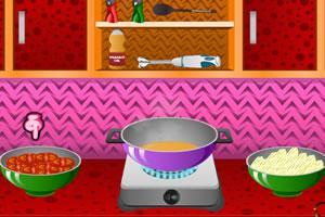 制作西红柿汤