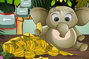 小象吃香蕉
