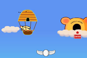 热气球兔子