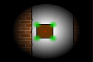 红色点闯迷宫