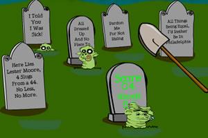 墓地打尸虫