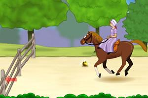 公主学骑马