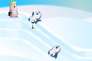 企鹅国王雪团守城