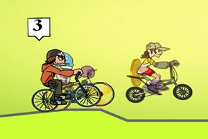 自行车速度赛