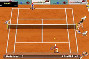 急速网球公开赛