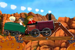 给火车铺路