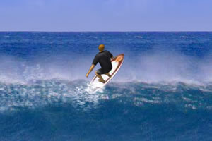 海上冲浪技巧