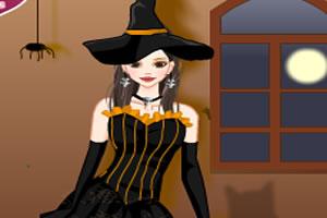 女巫万圣节装扮