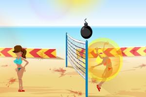炸弹MM排球