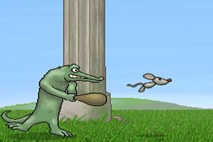 鳄鱼打飞鼠