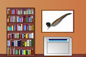 逃出小型图书室