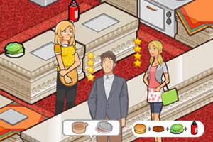 女生汉堡店3