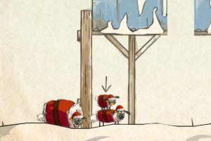 送小羊回家圣诞版