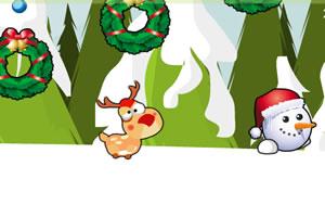 麋鹿找圣诞老人