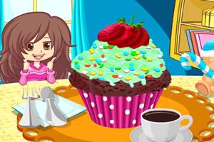 多彩纸杯蛋糕