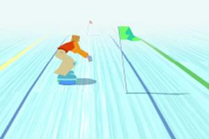 冰上滑雪达人