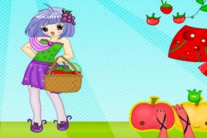 水果女孩换装