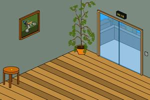 上锁的卡通房间6