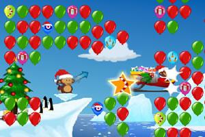 小猴子戳气球2圣诞版