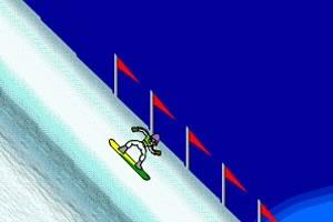 冰山极限滑雪