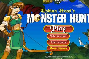 罗宾娜猎杀怪物