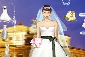 妆扮美丽新娘