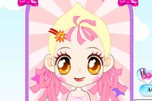 可爱小女生化妆版