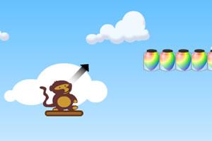 小猴子戳气球加强版