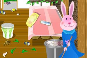 兔子夫人清理家
