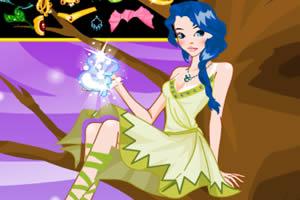 魔法女的打扮