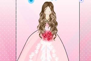 漂亮的娃娃新娘