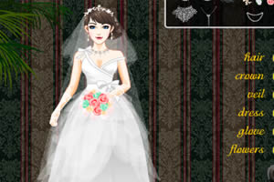 新婚婚纱换装