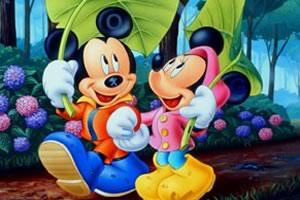 迪士尼情侣找字母