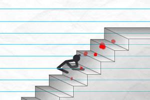 火柴人之摔下楼梯