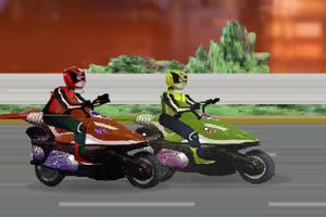 奥特曼摩托比赛