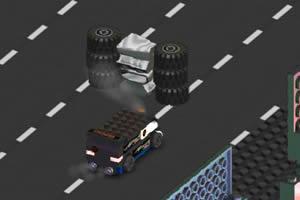 3D乐高破坏四驱车