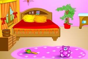 粉红卧房找鸡蛋