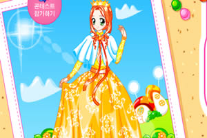 亮丽璀璨公主裙