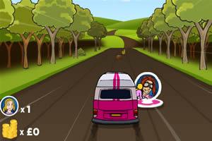 开车和朋友去旅行
