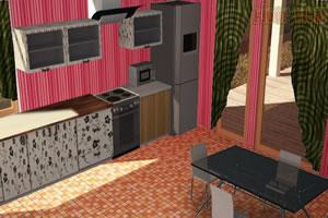 布置时尚厨房