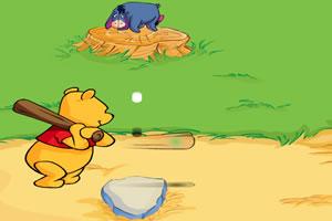 小熊维尼打棒球