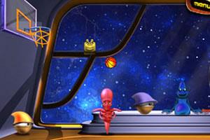 太空投篮球