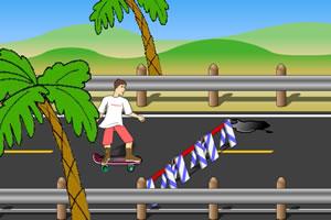 障碍滑板赛
