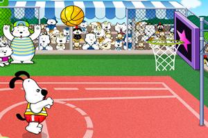 喔里打篮球