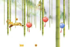 功夫熊猫猴子偷桃