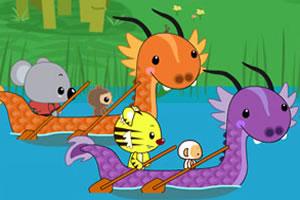 龙舟赛艇比赛